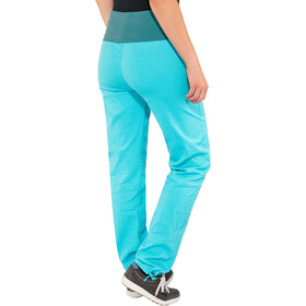 E9 Lem 19 Trousers Women, cyan